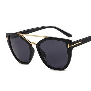 Metal Goggle Sunglasses Women Vintage Sun Glasses Lady Shades Fashion Punk Eyewear Popular Trend Wrap Eyeglasses UV400(China)