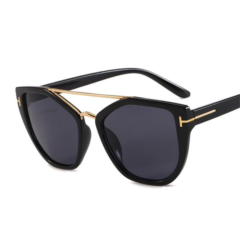 Metal Goggle Sunglasses Women Vintage Sun Glasses Lady Shades Fashion Punk Eyewear Popular Trend Wrap Eyeglasses UV400