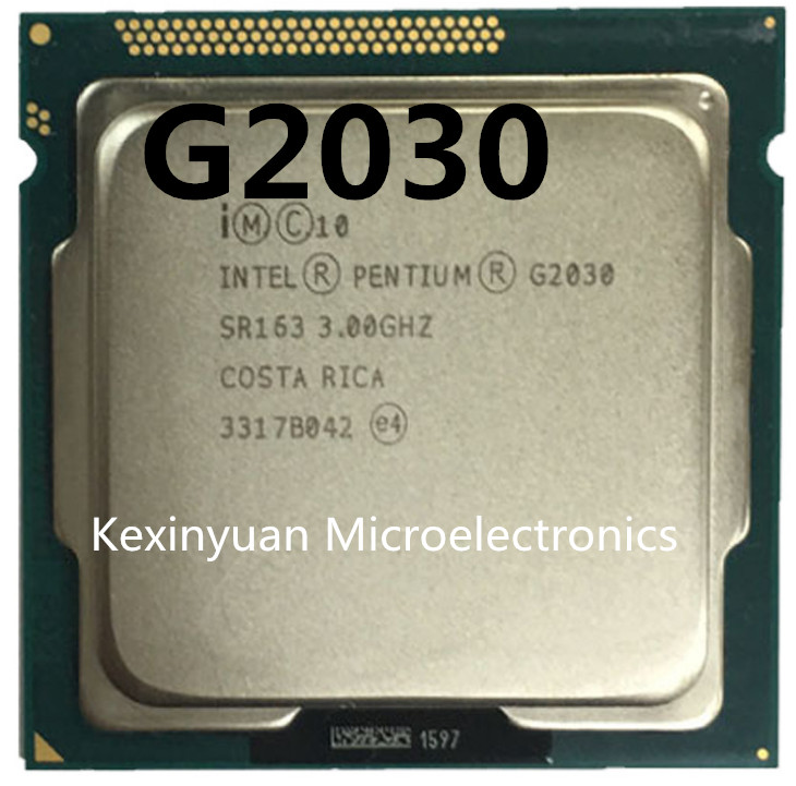 Intel Pentium Processor G2030 (3M Cache 3.0 GHz) CPU LGA1155 100% Working Properly PC Computer Desktop CPU