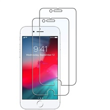 Tempered Glass For Apple iphone 7 8/7 8 Plus 9H 25D Protective Film Explosion-proof Clear Screen Protector Phone Case