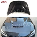 Dry Carbon Fiber Front Engine Hood Bonnet Cover for BMW 1 Series F20 2 Series F22 F87 M2 Car CS Style Bonnet Cap