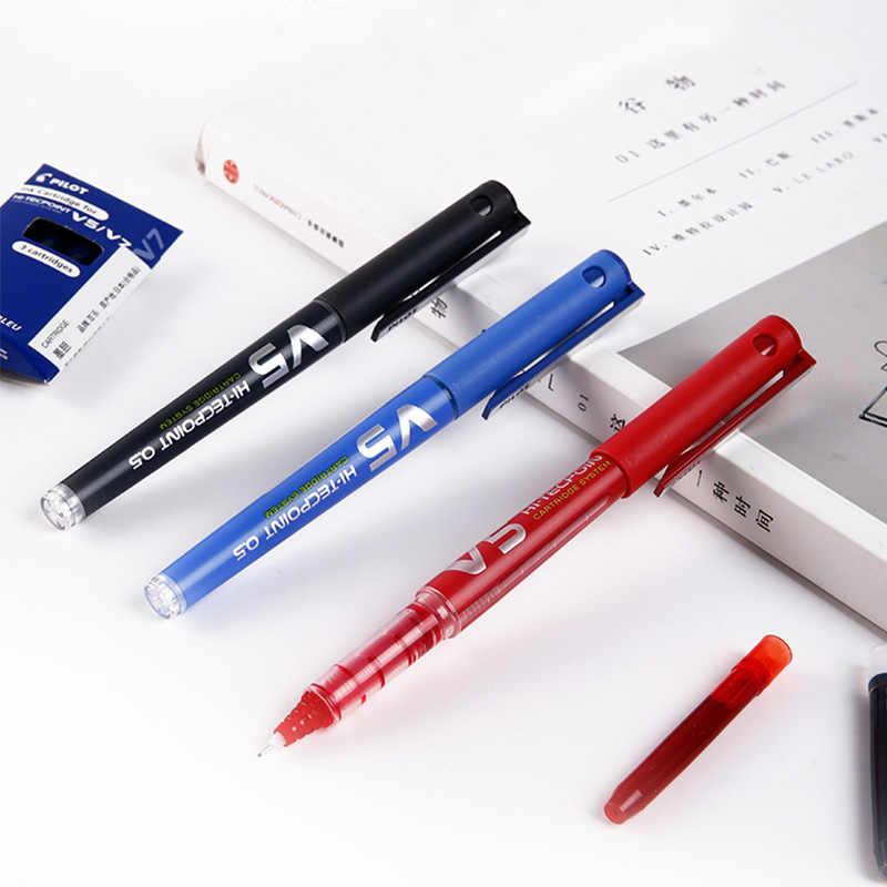PILOT BXC-V7 wymienny atrament długopis żelowy BX-V5/wersja ulepszona V7 o dużej pojemności Student podpis biurowy pióro 0.7mm