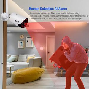 Image 5 - Zjuxin 1080P IP AI Camera HD Cloud Wireless Wifi Outdoor Weatherproof Infrared Night Vision Security Camera With TF Slot