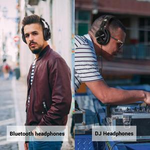 Image 5 - Oneodio A70 Professionelle DJ Kopfhörer Tragbare Wireless/Wired Headset Musik Teilen Bluetooth 5,0 Kopfhörer Für Aufnahme Monitor