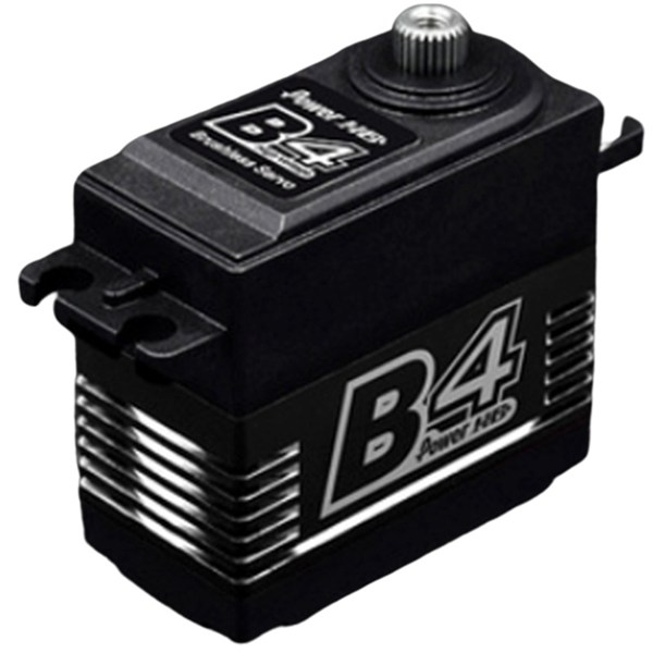 1Pcs Power HD B4 25KG High Torque Brushless Metal Gear Servo for RC Airplane 3D F3A image