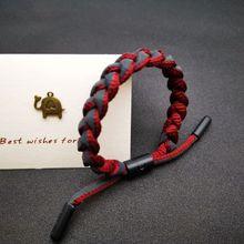 Star studded, trendy little lion Bracelet holographic reflective hand woven Bracelet student couple meet Bracelet moon star rhinestone studded bracelet watch