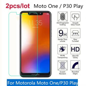 Tempered Glass For Motorola Moto One 9H 2.5D Premium Screen Protector Film On Motorola P30 Play XT1941-4 Protective Film Glass image