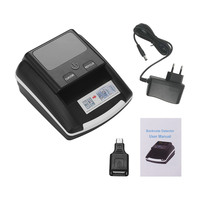 Portable Small Banknote Bill Detector Denomination Value Counter UV/MG/IR Counterfeit Fake Money Currency Cash Checker Tester