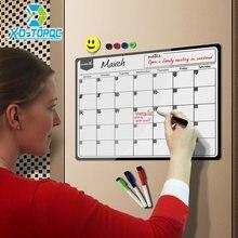 Новый ежемесячный планер магнитный календарь белая доска для