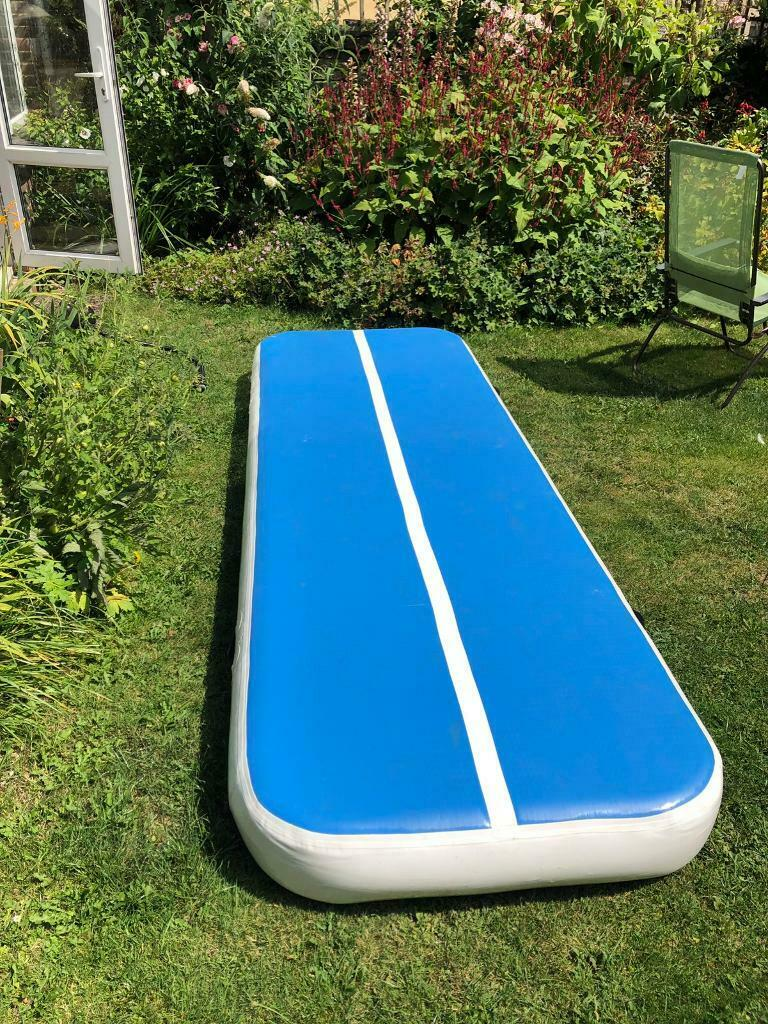 5M Inflatable Tumbling Mats Home Use Air Floor DWF Gymnastics Mat Air Track Mats Yoga Mat Gym Mats Low Price