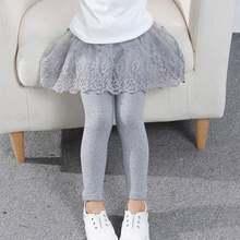 Леггинсы для маленьких девочек Милая юбка штаны детей принцесс
