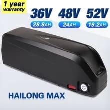 Ebike-Battery Electric-Bicycle Hailong-Max 21700 52V 48v 20ah 1000W 500W Original 750W