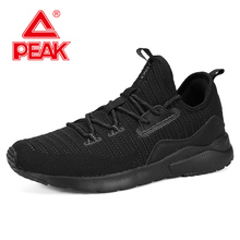 PEAK Men Running Shoes Lightweight Cushion Flexible Sneakers Autumn Winter Outdoor Fitness Jogging Shoes Breathable Footwear все цены