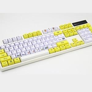 Image 4 - Tintura di Subbed PBT Keycap 108 Chiavi OEM Profilo Keycaps Per Interruttori MX tasto della tastiera cap