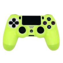 For PS4 Sony Playstation 4 Slim Controller Case Video Game Controller Accessory Soft Silicone Flexible Rubber Shell Cover