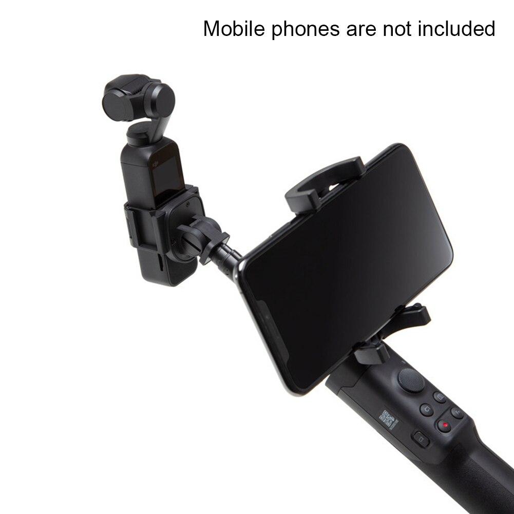 Pôle caméra rallonge accessoires portables stabilisateur Rechargeable Portable extensible support pour téléphone extérieur pour poche OSMO