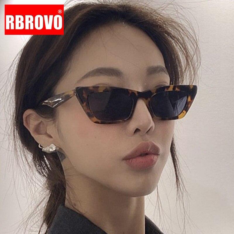 RBROVO 2020, Gafas De Sol pequeñas De ojo De gato para mujer, Gafas Vintage De lujo para mujer, Gafas De Sol con espejo para hombres y mujeres, Gafas UV400