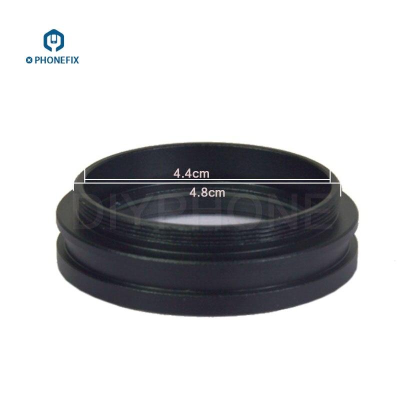 Lente de Vidro para a Prevenção do Risco do Microscópio Vidro para a Lente uv do Fumo do Óleo à Prova de Poeira Controle Capa Protetora Objetiva