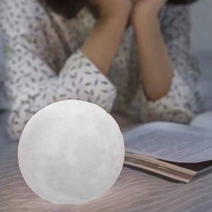 Высота каблука 10 см луна светильник 3D принт Красочные Изменение лунный Глобус лампа луна ночь светильник Usb сенсорный выключатель домашний Украшения в спальню, Прямая поставка