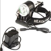цена на SecurityIng 1800Lm Bike Headlight 3x XM-L T6 LED Headlamp Bicycle Light + 6600mAh Battery Pack with 4 Modes Changeble