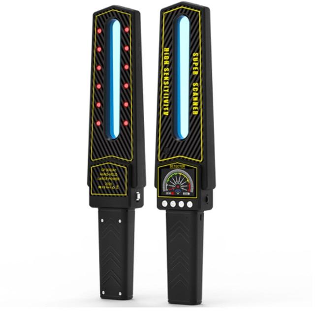 2021 Full Range Scan Wireless Spy Camera GPS RF Bug AI Signal Detector Laser Hidden Cam Lens  GSM Device Magnet Tracer Finder 1