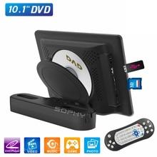 Новинка! 10,1 дюймов автомобильный DVD подголовник медиаплеер заднего сиденья монитор MP4 MP5 мультимедийный плеер USB/SD/HDMI/IR/FM/игры SH1018DVD