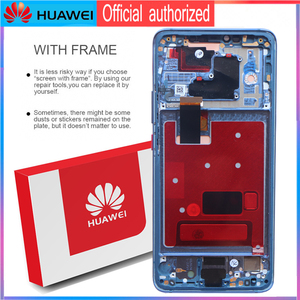Image 3 - Original 6.39 Display with frame fingerprint Replacement for Huawei Mate 20 Pro LCD Touch Screen LYA L29 Digitizer Assembly
