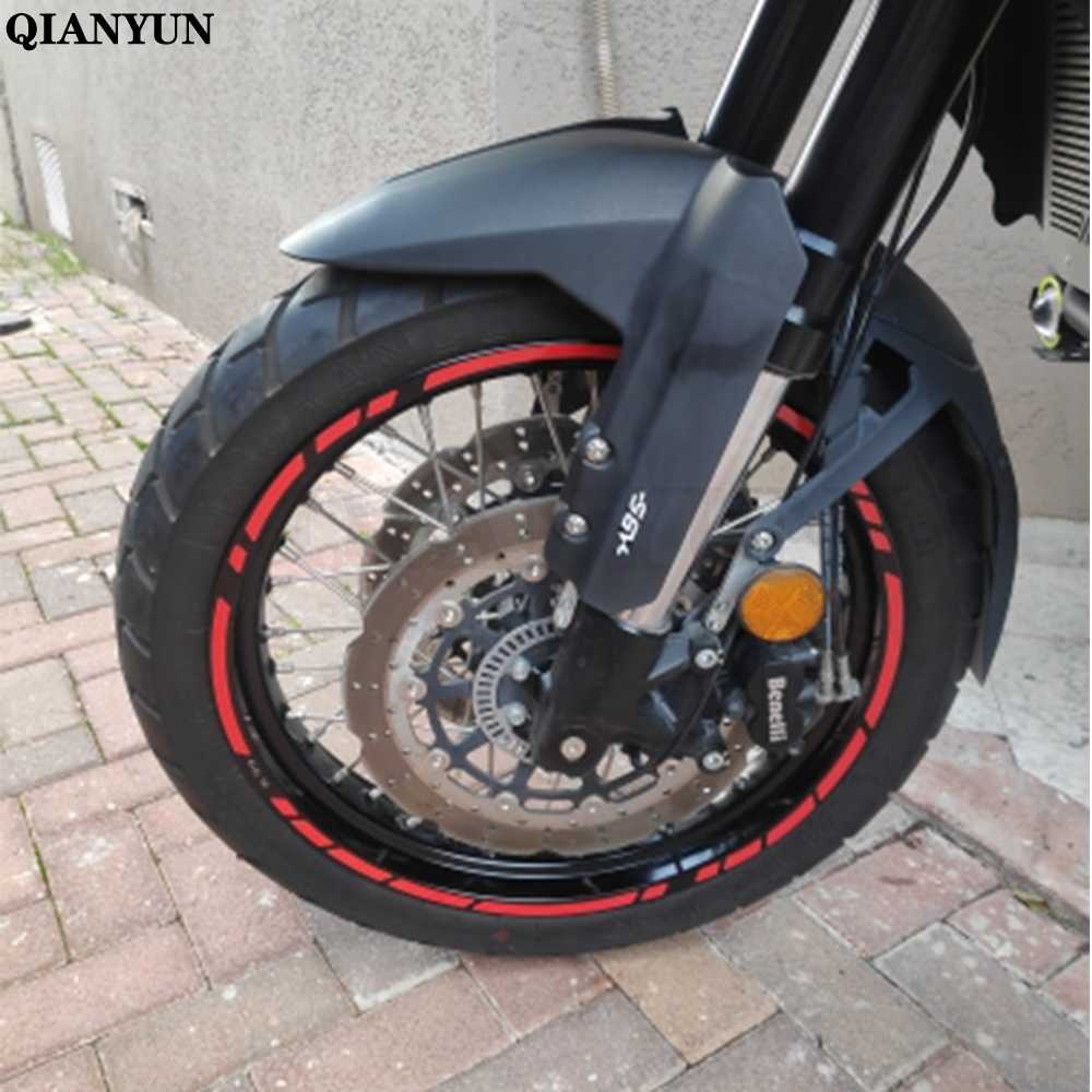 "Baru Universal 16 ""18"" 19 ""Sepeda Motor Ban Mobil Stiker Reflektif Ball Tape untuk Kawasaki ZZR600 ZXR400 Z750S ZR750 ER6N ER6F"
