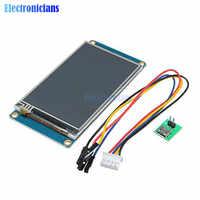 """3.2 """"cal Nextion HMI inteligentny szeregowy UART SPI ekran dotykowy TFT LCD moduł 400x240 panel wyświetlacza dla Raspberry Pi 2 A + B + UNO R3 Mega"""