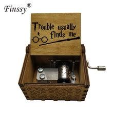 Деревянная коробка ручной коленчатый Hedwigs музыкальная шкатулка тема Harr Музыкальная Коробка для мужчин и женщин Pot s ERS подарок Магическая школа Hogwartes