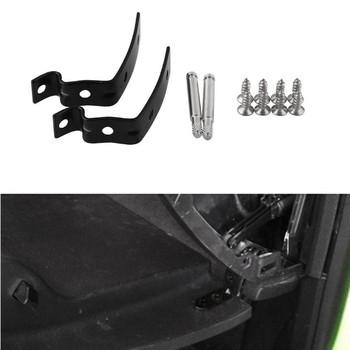 2020 gorąca sprzedaż schowek na rękawiczki zawias pokrywy zestaw naprawczy zawias wsporniki ze śrubami dla Audi A4 S4 RS4 B6 B7 8E tanie i dobre opinie CN (pochodzenie) Stainless Steel 0 034 kg 4 5cm china 3 5cm 2 pcs Brackets With Screws