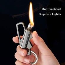 Новинка крутой керосиновый брелок зажигалка для ключей бензиновый