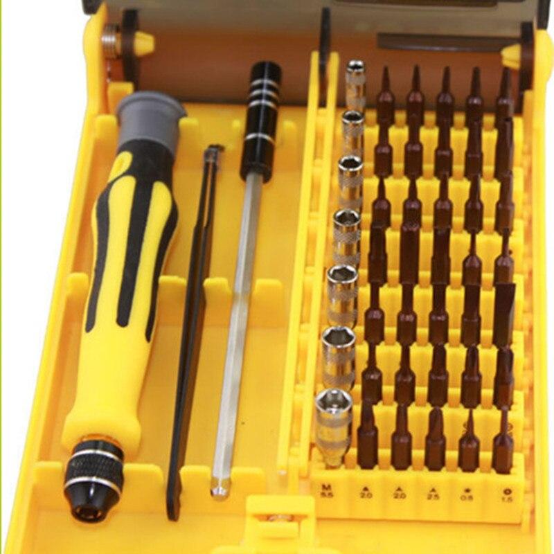 Screwdriver Set Precision Screwdriver Tool Kit Magnetic Phillips Torx Bits 45 in 1 For Phones Laptop PC Repair Hand Tool