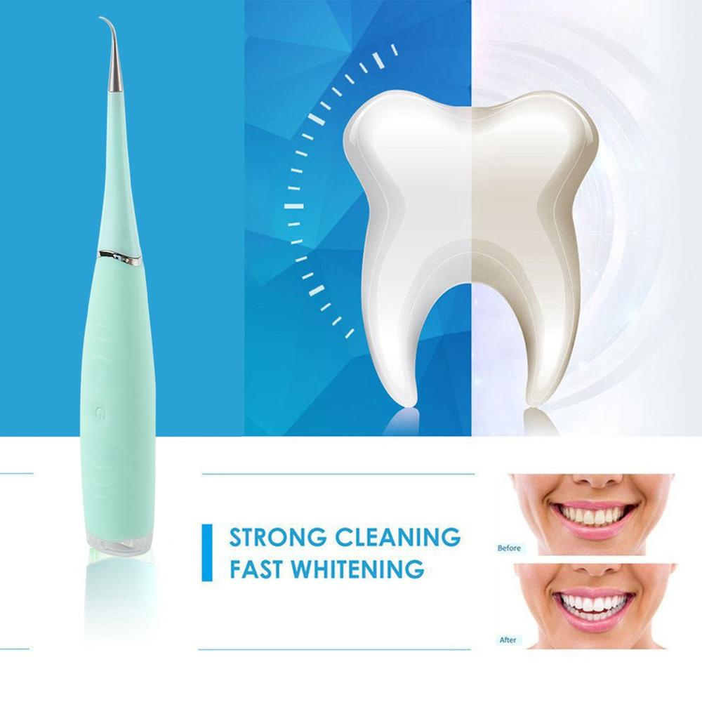 Dentist Oral Hygiene Electric Sonic Dental Scaler Tooth Calculus Remover Tooth Stains Tartar Tool USB Teeth Whitening Toothbrush(China)