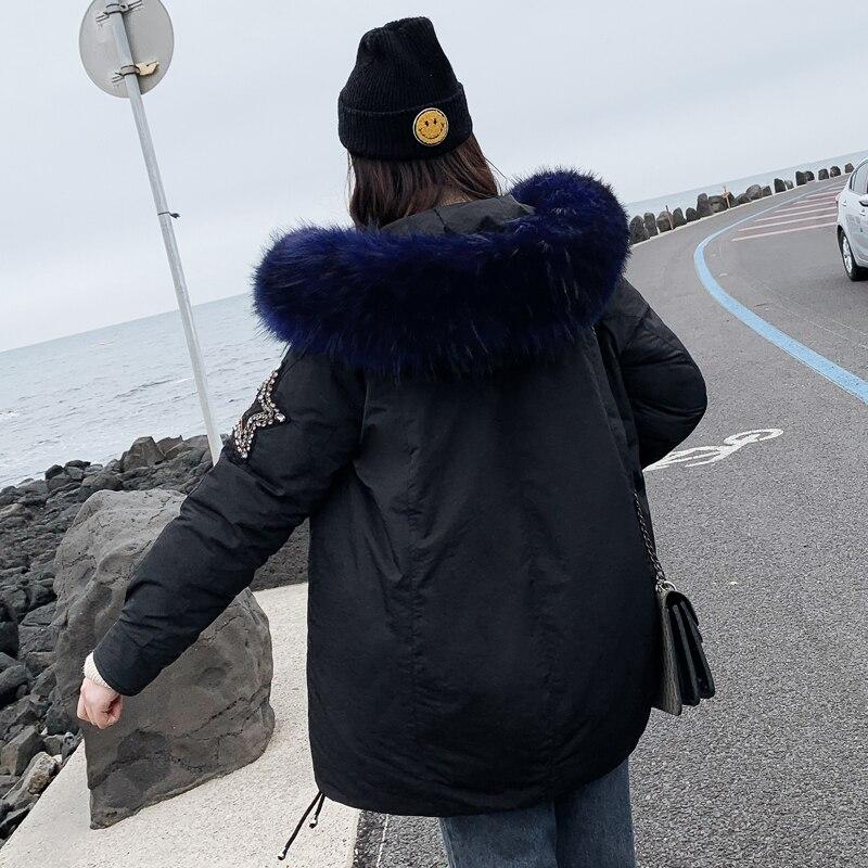 New Arrival 2019 Winter Jacket Women Cotton Padded Outwear Female Coat_B5_16