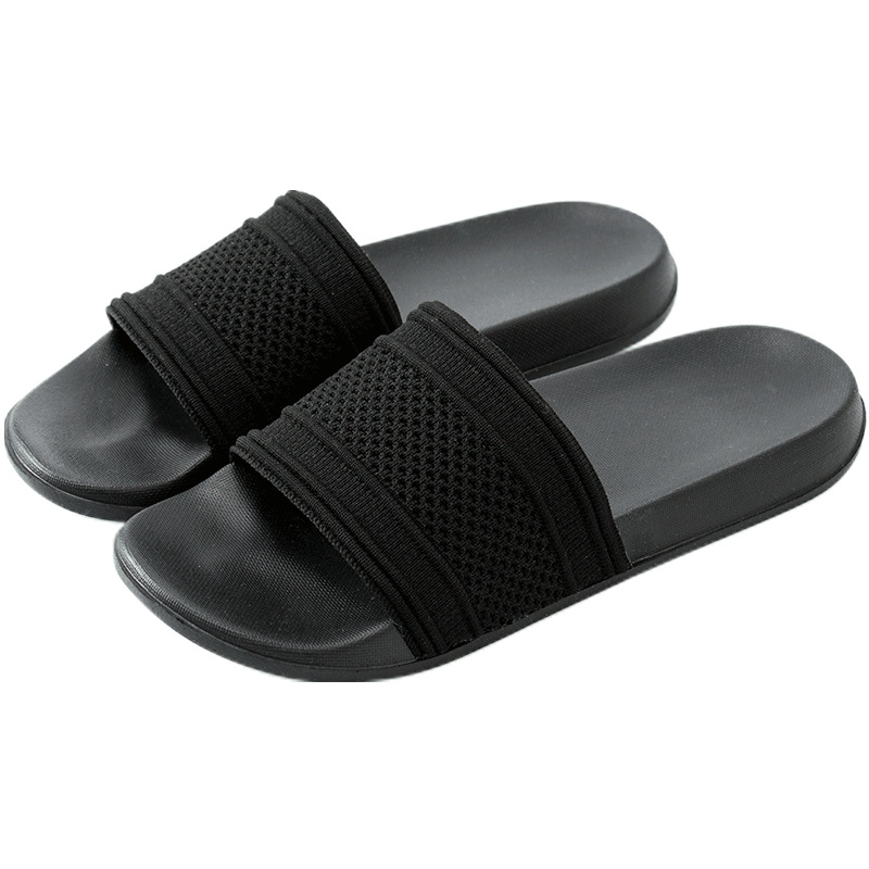 Summer Women Slippers Brand Design Breathable Bathroom House Slides Nonslip Light Comfortable Black White Indoor Outdoors Shoes
