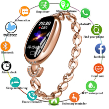 Women Smart Bracelet Blood Pressure Heart Rate Monitor Watch Phone Smart Band Fitness Tracker Smart Watch for IPhone Android IOS fabulous new watch heart rate monitor fitness bluetooth smart wrist watch phone mate for ios and android phone intelligent watch