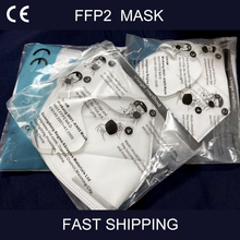 10PCS FFP2 Face Mask 5 Layers CE Certification Anti Germ Anti Infection KN95 Mouth Mask Protective Masks Same as KF94 N95