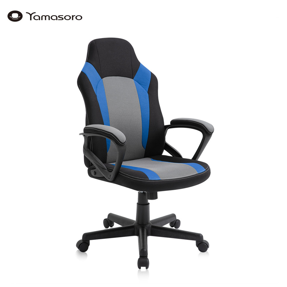Yamasoro PC Gaming Chair Ergonomic Office Chair Executive Computer Desk Chair with Lumbar Support, Padded Armrest for Women Men