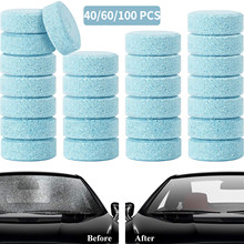 OGE 20/40/60/80/100/200 Pieces Car Windshield Glass Concentrated Window Washer Tablets