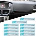 10 шт. Rdesign эмблема Автомобильный интерьер мультимедиа никелевая наклейка для Volvo R дизайн XC90 S60 CX60 V70 S80 V40 V50 S40 XC70 V60 C30