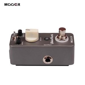 Image 5 - Mooer ShimVerb Digital Reverb Guitar Effect Pedal Mini Guitar Pedal 3 Reverb Modes for Electric Guitar True Bypass Guitar Parts