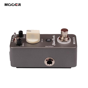 Image 5 - Mooer shimverb デジタルリバーブギターエフェクトペダルミニギターペダル 3 リバーブモードエレキギタートゥルーバイパスギター部品