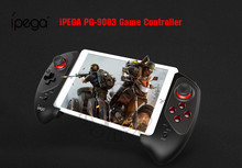 IPEGA PG 9083s PG 9083 con Bluetooth, mando inalámbrico telescópico, práctico mando elástico para iOS/Android/WIN