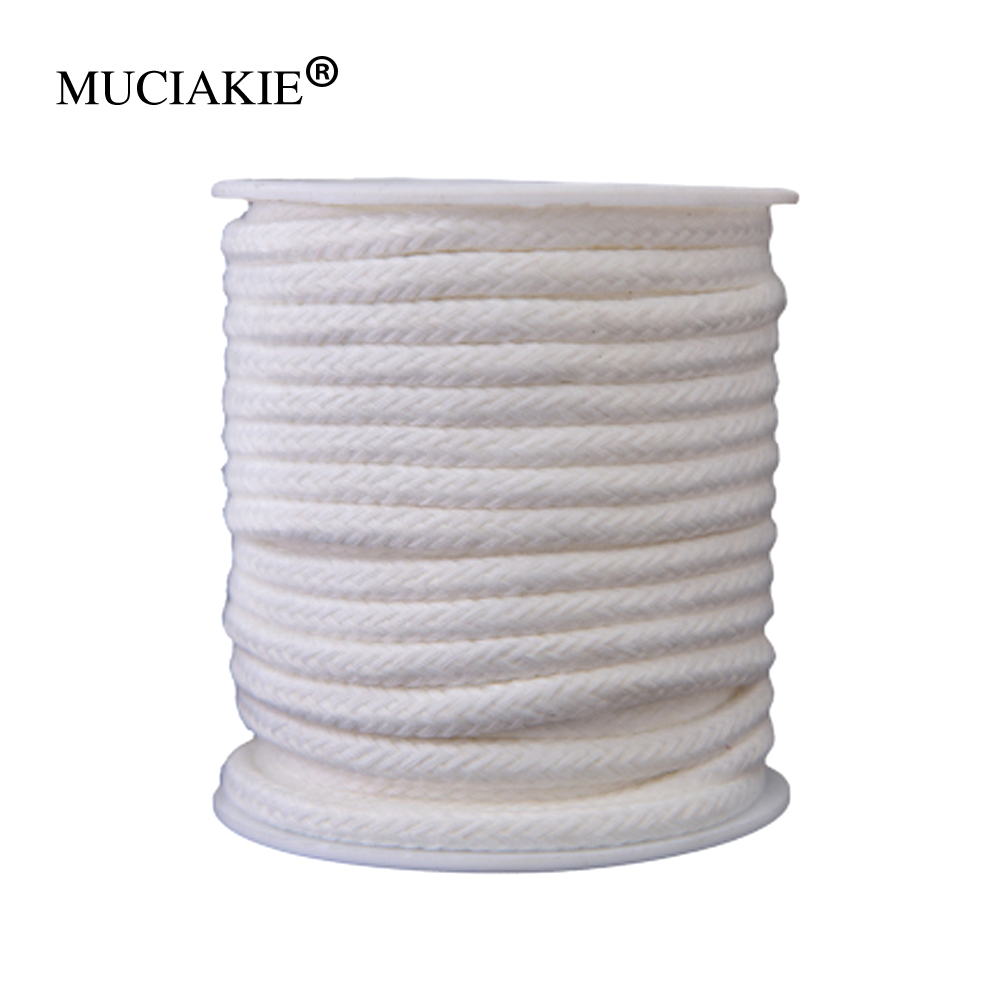 MUCIAKIE 4/5/6/8mm 5-100m Self Watering Wick Cord For Planter Pot DIY Automatic Slow Release Wicking Device Irrigation System