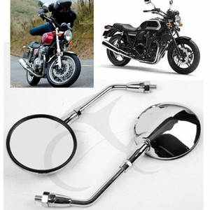 Motorcycle Rear View Mirror side mirrors For HONDA CB250 CB400 CB400SS CB600 CB500 CB750 CB1100 CB1000 CB1300 VT750 SHADOW 400