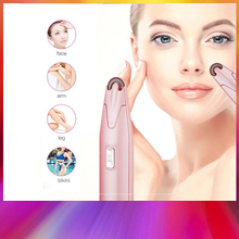 Mini Portable Electric Epilator Painless Body Hair Removal Arm Legs Hair Shaver Battery Powered Bikini Trimmer Female Beauty 2017 free shipping laser permanent hair removal painless instrument for male and female body bikini legs arm smooth skin