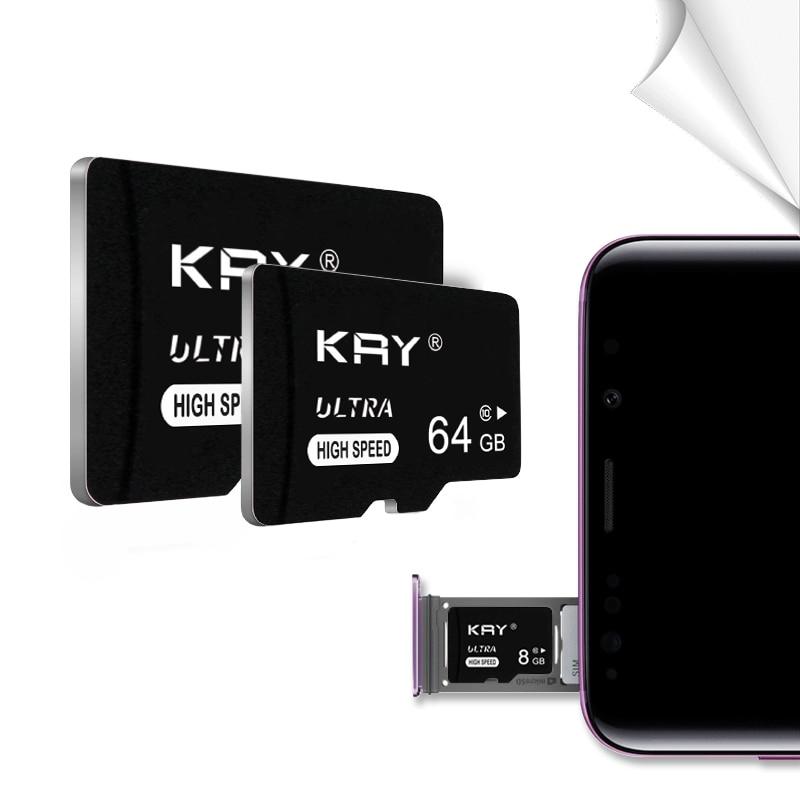 High Speed SD Card 64GB 32GB 128GB 8GB 16GB Memory Card C10 TF Card 64 32 128 16 8 GB Cartao De Memoria For Phone Camera