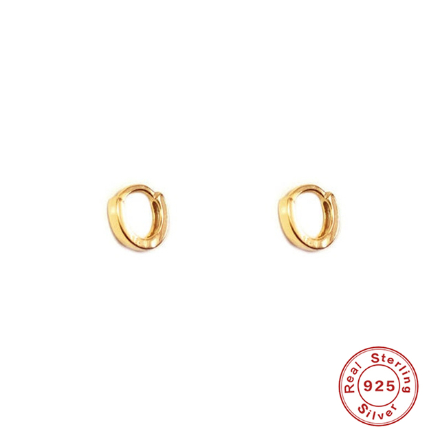 925 Sterling silver Prevent allergy Earrings Gold Tiny Stud Bar Earrings Aretes De Moda Huggie Jewelry.jpg 640x640 - 925 Sterling silver Prevent allergy Earrings Gold Tiny Stud Bar Earrings Aretes De Moda Huggie Jewelry Woman Stud Earrings A30