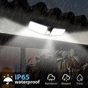 Outdoor Solar Garden Ligh Waterproof 80 LEDs Solar Wall Light PIR Motion Sensor Wireless Securitys Lights t Driveway Home(China)